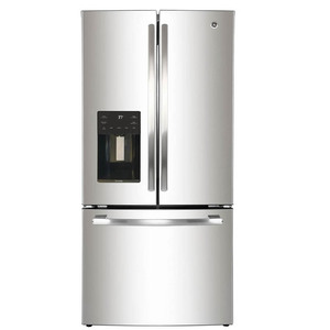 Refrigerador French Door de 665 L Acero Inoxidable GE Profile - PFM25HSLCSS