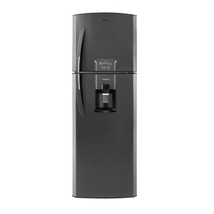 Nevera No Frost 300 Lts. Brutos Panel Digital Black Stainless Steel Mabe-RMA300FZCC